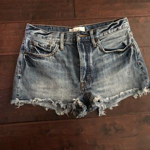 Free people size 27 denim shorts